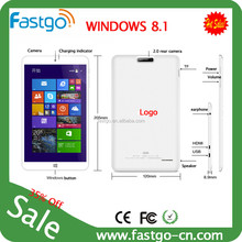Intel Atom cpu windows tablet pc dual sim/3g gsm windows tablet pc/windows8 tablet pc with 3g