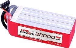 hottest 22.2v 25C 6s 22000mAh lipo battery for quadcopter DJI S1000 / DJI S1000 LiPO Battery Pack