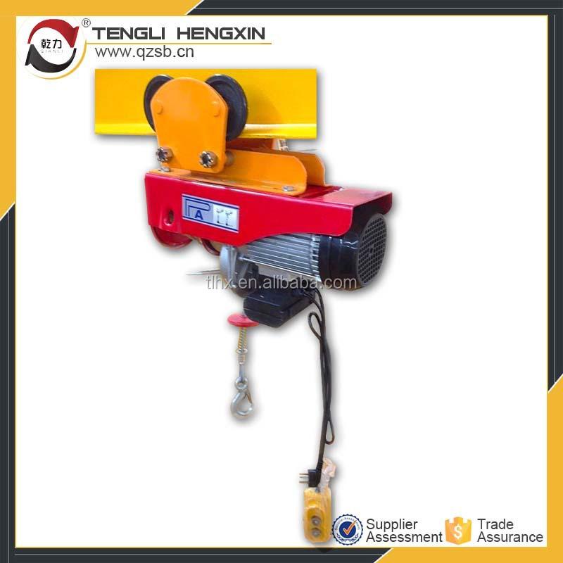 Pa mini gru monofase mini paranco elettrico 1000kg con for Paranco elettrico 1000 kg