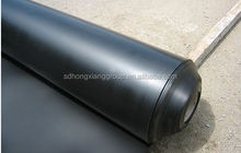 Smooth surface ldpe / hdpe geomembrane od waterproofing material