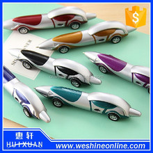 Automotive styling ballpoint pen (wheels moving)