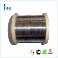 Copper nickel low resistant heating flat wire CuNi5(MC010)