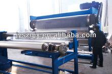 textile hot embossing machine for plastic film