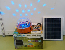 8W solar stereo system with blinking led popular is North America with remote controller for MRD803