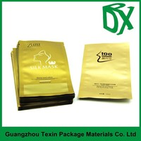 China wholesale aluminium foil plastic facial mask bag for packaging