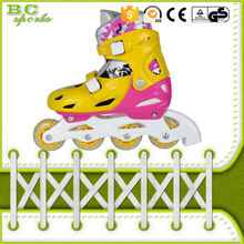 wholesale poland popular kids pink four wheel roller skate shoes