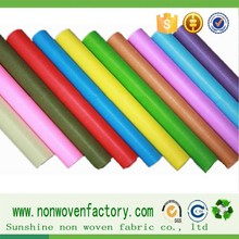 100% pp nonwoven felt in roll for oversea spunbond fabric,colorful wholesale fabric rolls
