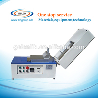 Lithium Ion Battery Electrode Coating Machine with dryer and vacuum pump, Coin making machine