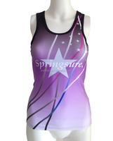 sublimated print customised dance cheer uniform
