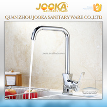 China modern new design brass hot and cold water kitchen faucet