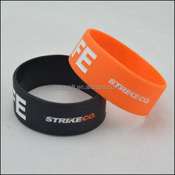 Advertising Silicone Bracelets with Logo