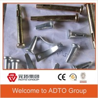 Construction Aluminium Formwork system accessories Joint Stub pin and wedge wedge pin