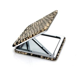 best selling products square shaped pu mirror