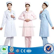2015 Work well fashion cotton nurse uniform fabric / hospital nurse uniform / hospital uniforms nurse uniform for hospital use