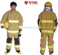 YSE EN safety fire fighting fireman over coat