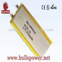 3.7v 3150mah replacement notebook battery,portable flat iron battery