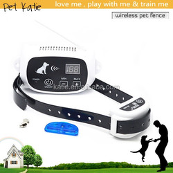 OEM Pet Dog Training System Outdoor Instance Dog Fence with Shock E Collar