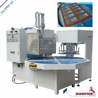 Turntable automatic high freqency blister packaging machine toothbrush packing machine