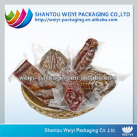 Food grade non-toxic high barrier food boiling plastic bag printed