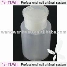 Nail plastic pump bottle wholesale,PE Plastic Bottle,Liquid Plastic Bottle