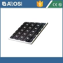 50W Solar Panel with TUV IEC MCS CEC INMETRO IDCOL SONCAP Certificates/ solar panel price