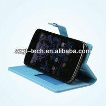 Wallet leather case for LG Google Nexus4 E960