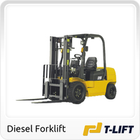 2.5 ton forklift with ISUZU Engine