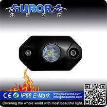 "Wireless control AURORA 2"" rgb rock light flash led light"