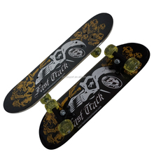 2406C-1UT5036B chinese maple wooden four wheel kid nice design mini skateboard