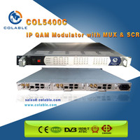 dvb-c ip qam modulator mux scrambler all in one platform