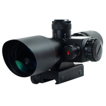 2.5-10X40 Infrared night vision riflescope,riflescope for hunting, Laser red dot weapon sight scope for sale