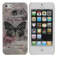 Luxury Butterfly Pattern Hard Case for iPhone 4 4G 4S
