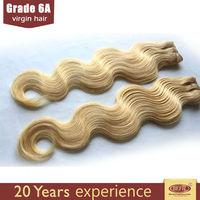 s7 hair golden yellow color european blonde virgin remy hair body wave