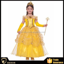 Halloween princess costume Kid's princess Costume pricess uniforms girl's fancy dress cosplay Dress