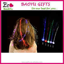 Blinking hair braid led hair clips for party decoration LED lighting hairgrip accessories for hair