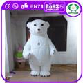 Hi CE nueva! 2 m inflable gigante de la mascota del traje adulto del traje de oso polar