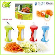 2014 Hot Spiral Vegetable Slicer/Spiral slicer /plastic turning slicer/Grater/Zester
