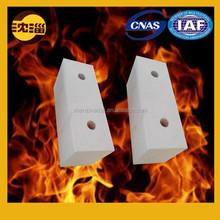 Glass fusing kilns tin bath bottom block refractory block