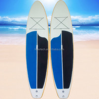 Long Board Type PVC and drop stitch fabric inflatable padle float board