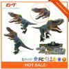 Big dinosaur hand puppet toy life size dinosaur toy set with ic