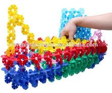 Mini del copo de nieve de construcción de bloques