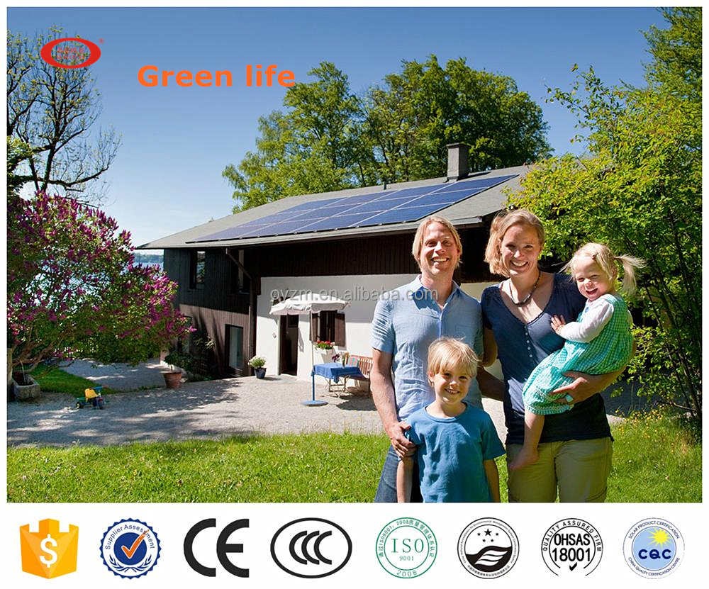 3kw 4kw 5kw Off Grid Home Solar Power System With Ce Buy