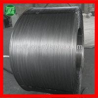 SGS&CIQ certificated Silicon calcium cored wire