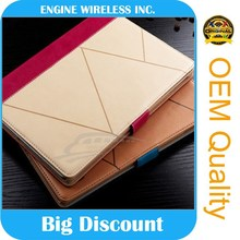 factory wholesale for apple ipad 6 leather case