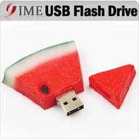 Real Capacity Pen Drive Silicone Watermelon 4gb/8gb/16gb/32gb/64gb Bulk Fruit Drives Flash Pendrive Usb Flash Drive Memory Stick