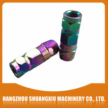 new product steel 4 jaws grease gun coupler with color zinc