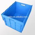 Conception personnalisée de grandes boîtes en plastique d'emballage de pliage