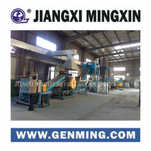 Wet separation waste circuit board recycling machine for 2-10t per day