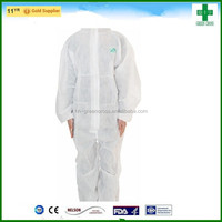 2015 Haixin greencross disposable nonwoven Surgical kit sterile(face mask/bouffant cap/isolation gown/drapes)