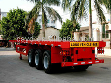 3 axles Container semi trailers for sale